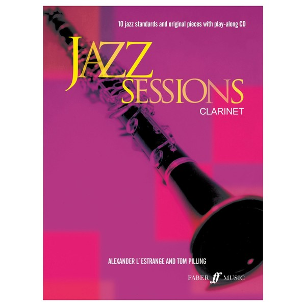 Jazz Sessions for Clarinet, Book and CD