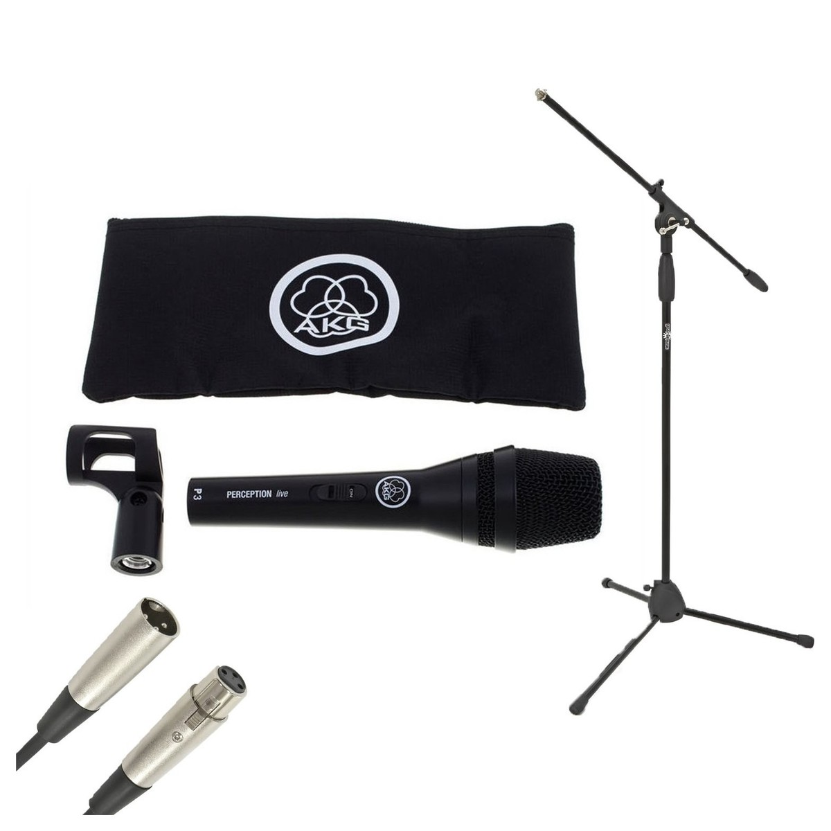 Click to view product details and reviews for Akg P3 S Vocal And Instrument Dynamic Microphone With Stand And Cable.