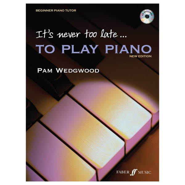 Its never too late to play Piano, Book and CD