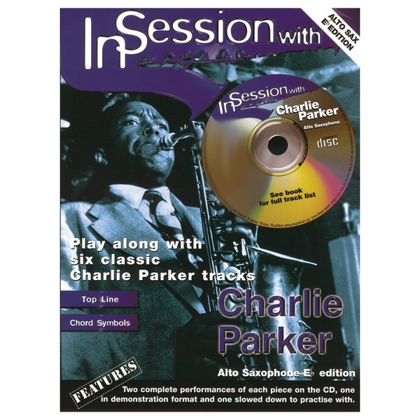 In Session with Charlie Parker, Alto Sax, Book and CD