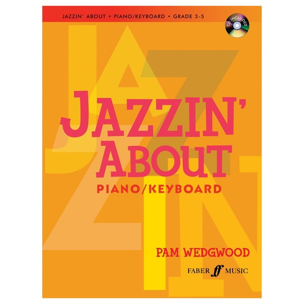 Jazzin' about for Piano, Pam Wedgwood, Book and CD