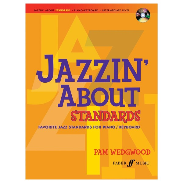 Jazzin' about Standards for Piano, Pam Wedgwood, Book and CD
