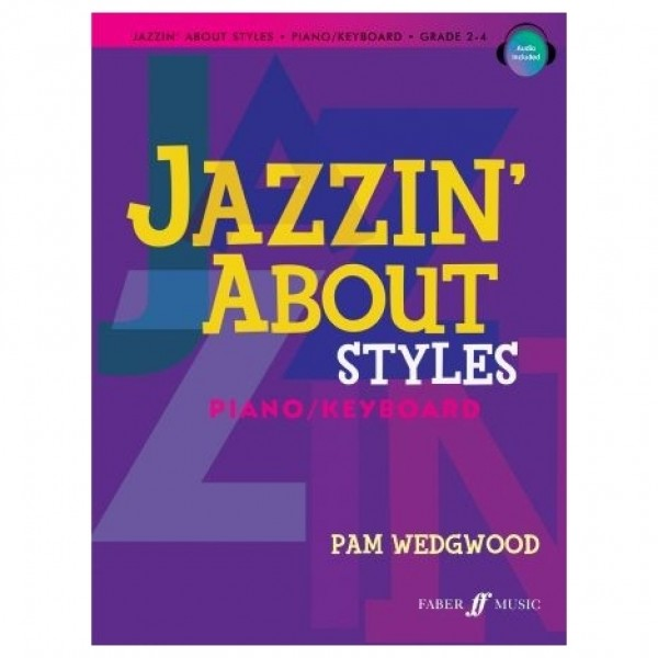 Jazzin' about Styles for Piano, Pam Wedgwood