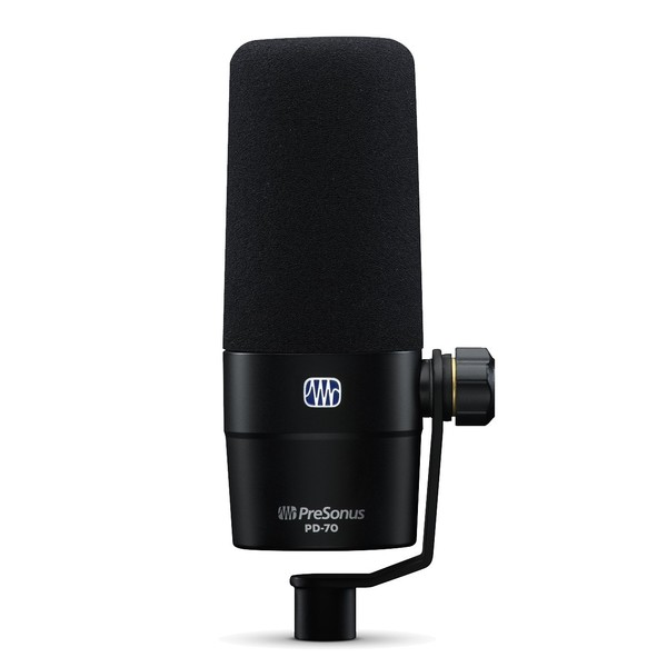Presonus PD-70 Dynamic Broadcast Microphone - Front View