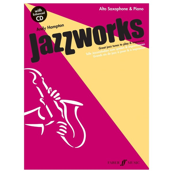 Jazzworks for Alto Sax, Andy Hampton, Book and CD