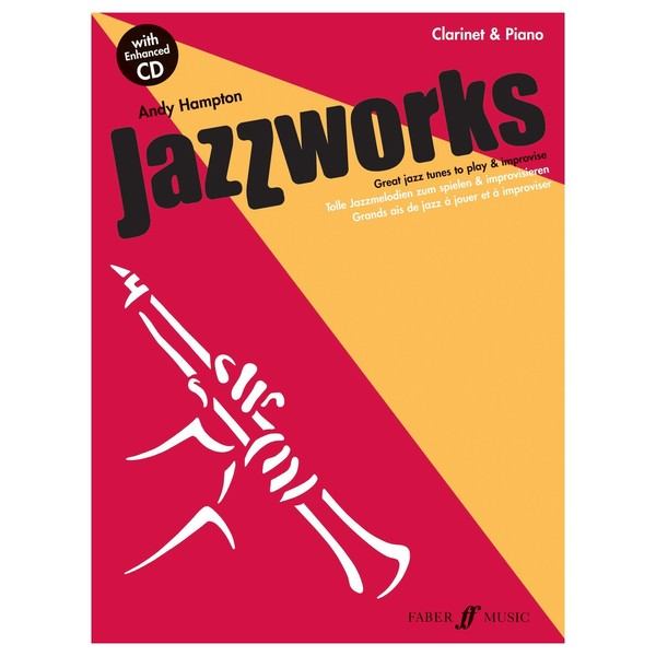 Jazzworks for Clarinet, Andy Hampton, Book and CD