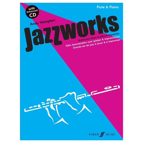 Jazzworks for Flute, Andy Hampton, Book and CD