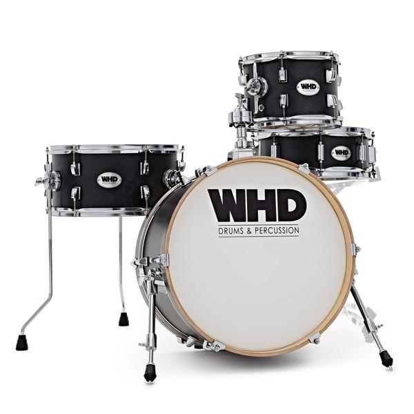 WHD Elite Compact Drum Kit, Trans Black