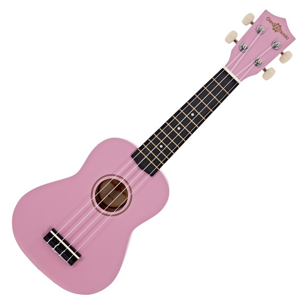 Ukulele by Gear4music, Pink