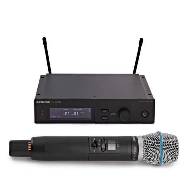 Shure SLXD24UK/B87A-K59 Handheld Wireless Microphone System