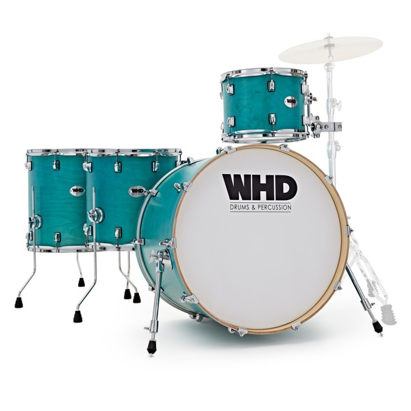 WHD Elite 4 Piece Rock Custom Shell Pack, Teal Fade