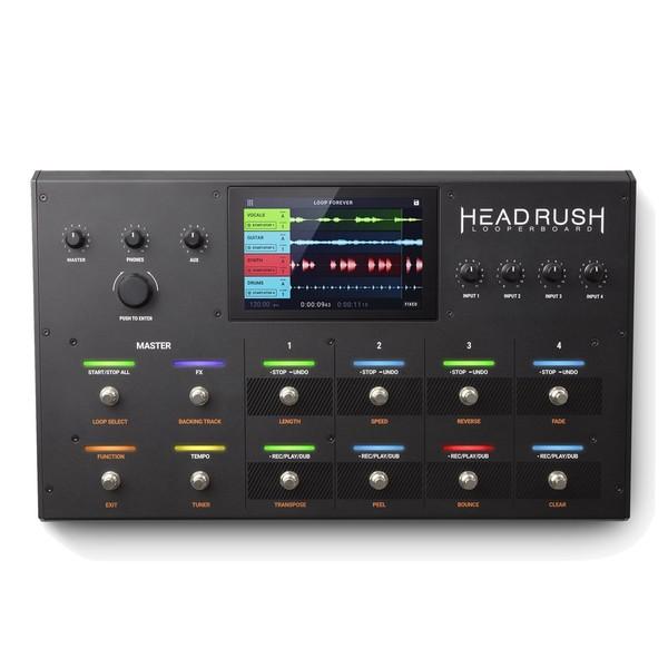 HeadRush Looperboard Looper Pedal - Main Front