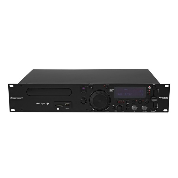 Omnitronic XDP-1502 CD/MP3 Player - Front