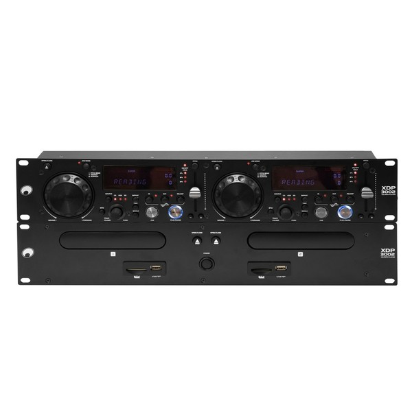 Omnitronic XDP-3002 Dual CD/MP3 Player - Front