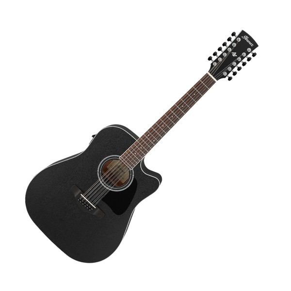 Ibanez AW8412CE Artwood, Weathered Black Open Pore
