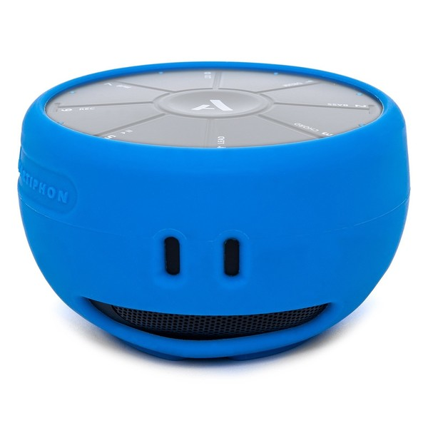 Artiphon ORBA Silicone Sleeve, Blue - Front with Orba (Orba Not Included)
