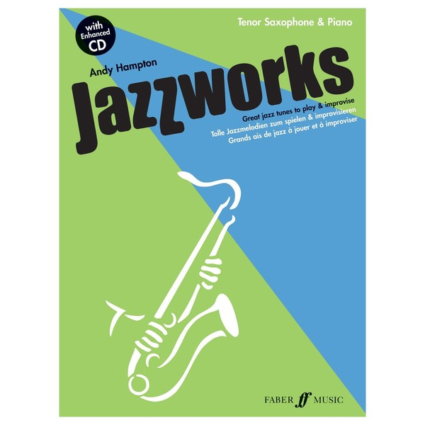 Jazzworks for Tenor Sax, Andy Hampton, Book and CD