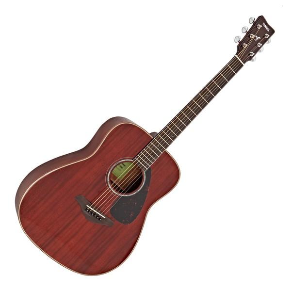 Yamaha FG850 All Mahogany Acoustic Guitar, Natural