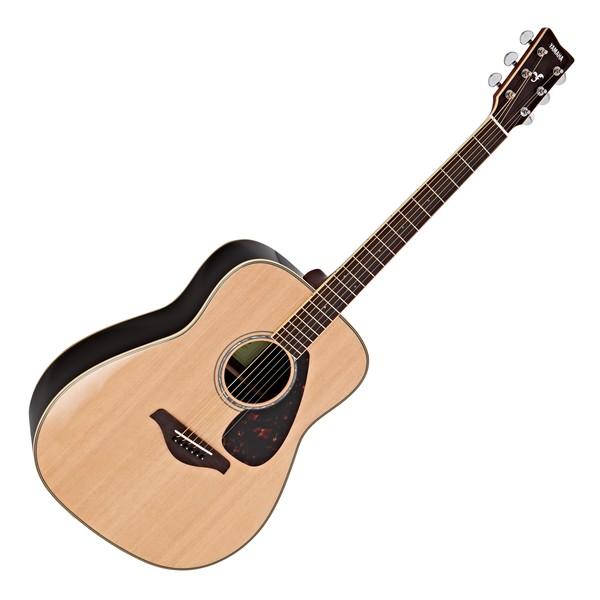 Yamaha FG830 Acoustic Guitar, Natural