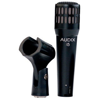 Audix I5 All-Purpose Dynamic Instrument Microphone, VLM Type-B with Clip