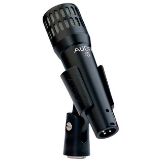 Audix I5 All-Purpose Dynamic Instrument Microphone, VLM Type-B in Clip