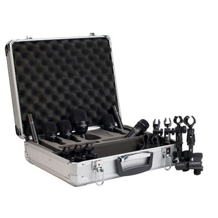 Audix FP7 Drum and Cymbal Microphone Pack, 7 Pieces