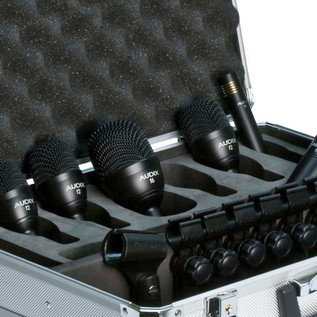 Audix FP7 Drum and Cymbal Microphone Pack, 7 Pieces Detail