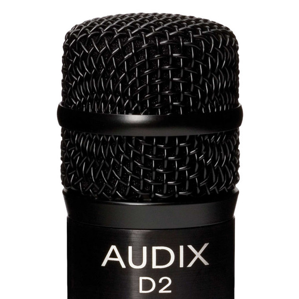 Audix D2 High Gain Percussion Dynamic Microphone Detail