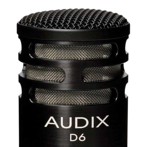 Audix D6 Kick Drum Dynamic Microphone Detail