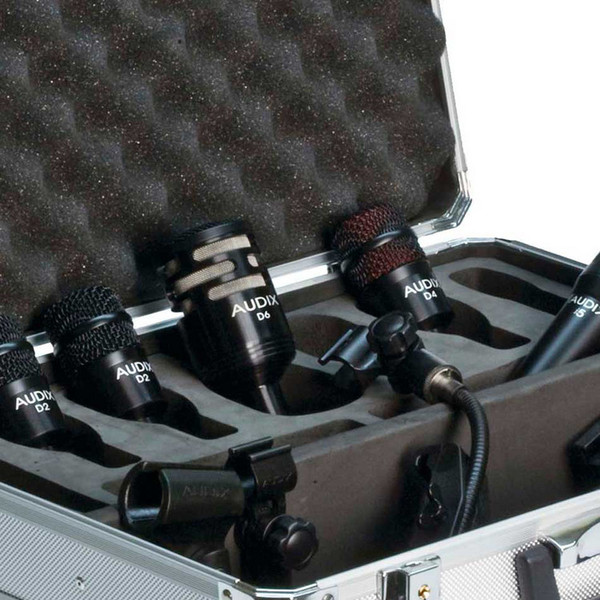 Audix DP5A Percussion Microphone Pack, 5 Pieces Detail
