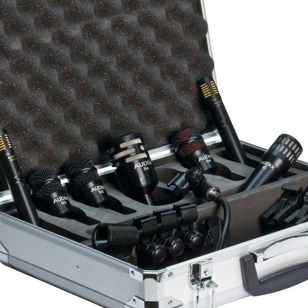 Audix DP7 Percussion Microphone Pack, 7 Pieces Detail