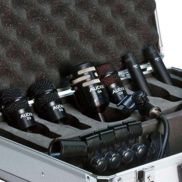 Audix DP Elite 8 Premium Percussion Microphone Pack, 8 Pieces Detail