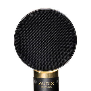 "Audix SCX25 1"" Studio Condenser Instrument Microphone Detail"
