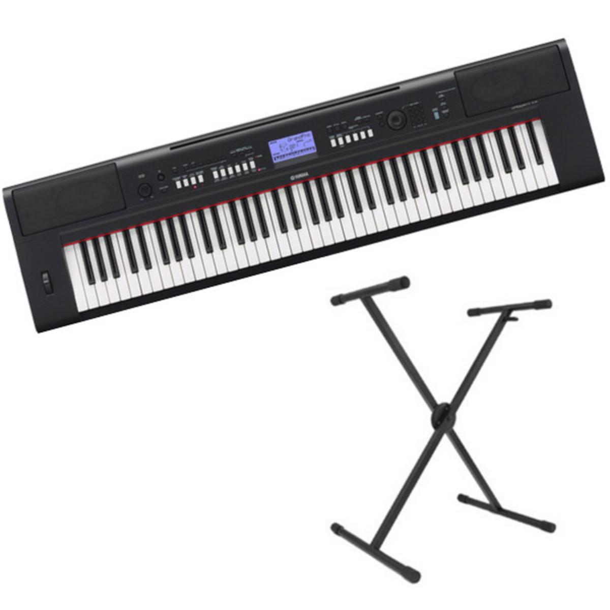 SONDERANGEBOT Yamaha Piaggero NPV60 Portable Keyboard Paket bei ...