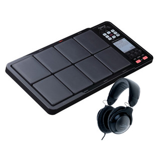 Roland Octapad SPD-30BK Percussion Pad & Audio-Technica Heapdhones