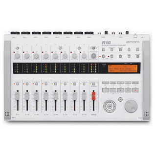 Zoom R16 Multitrack Recorder, Audio Interface & Controller (Front)