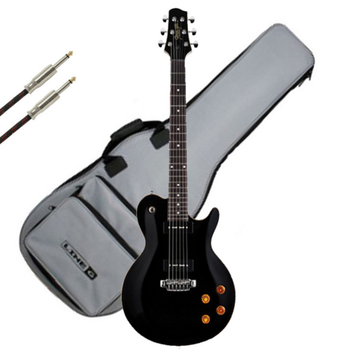 Line 6 JTV 59P James Tyler Variax Guitar Black With FREE Gifts Loading Zoom