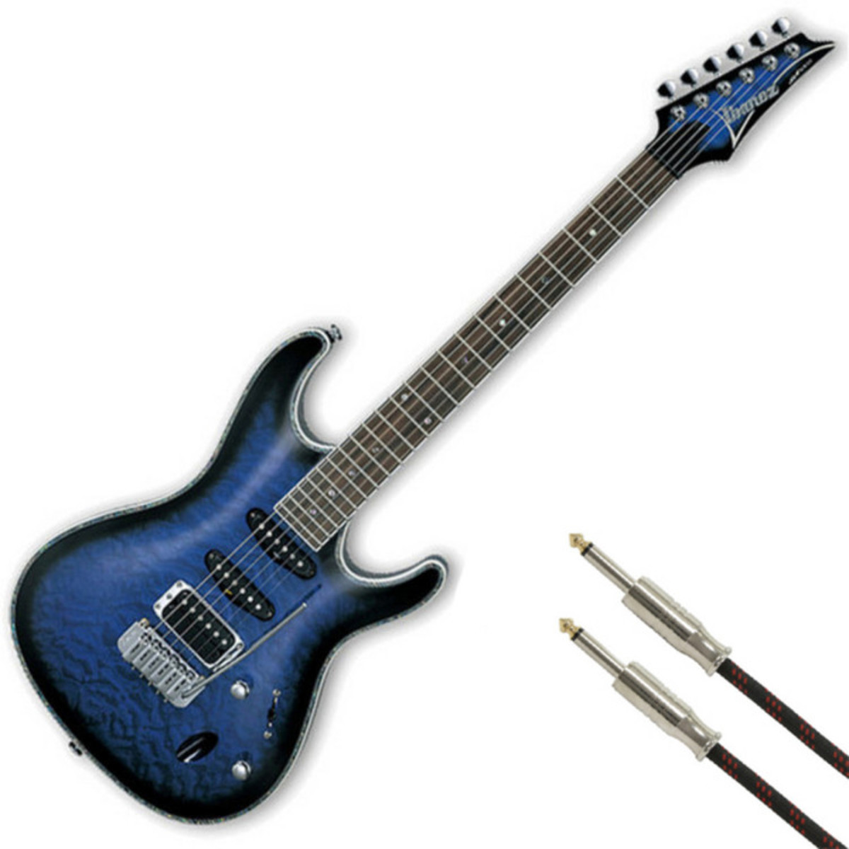 discibanez sas36qm electric guitar cornflower blue burst free gift at gear4music. Black Bedroom Furniture Sets. Home Design Ideas