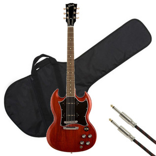 Gibson SG Classic with P90 Pickups, Heritage Cherry with FREE Gifts
