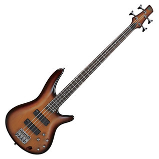 Ibanez SR370 4-String Bass Guitar, Brown Burst