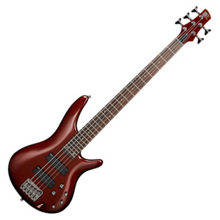 Ibanez SR305 5-String Bass Guitar, Root Beer Metallic