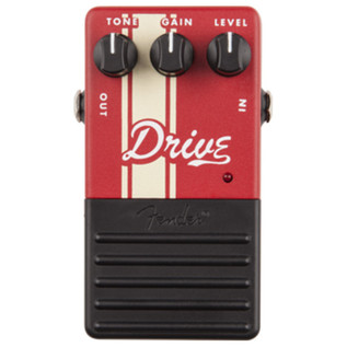 Fender Drive Guitar Effects Pedal - top
