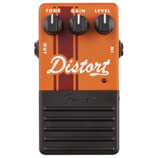Fender Distortion Guitar Effects Pedal - Top