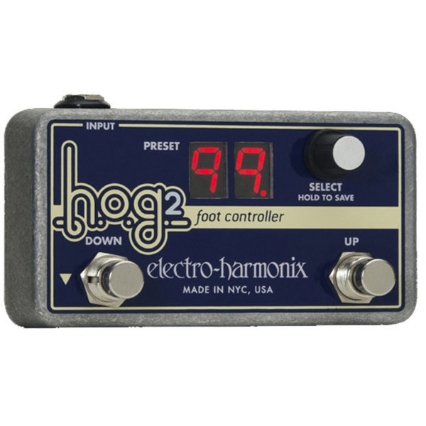 Electro Harmonix HOG2 Foot Controller - Front