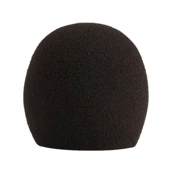 Shure A58WS Foam Windscreen for Ball Type Microphone, Black