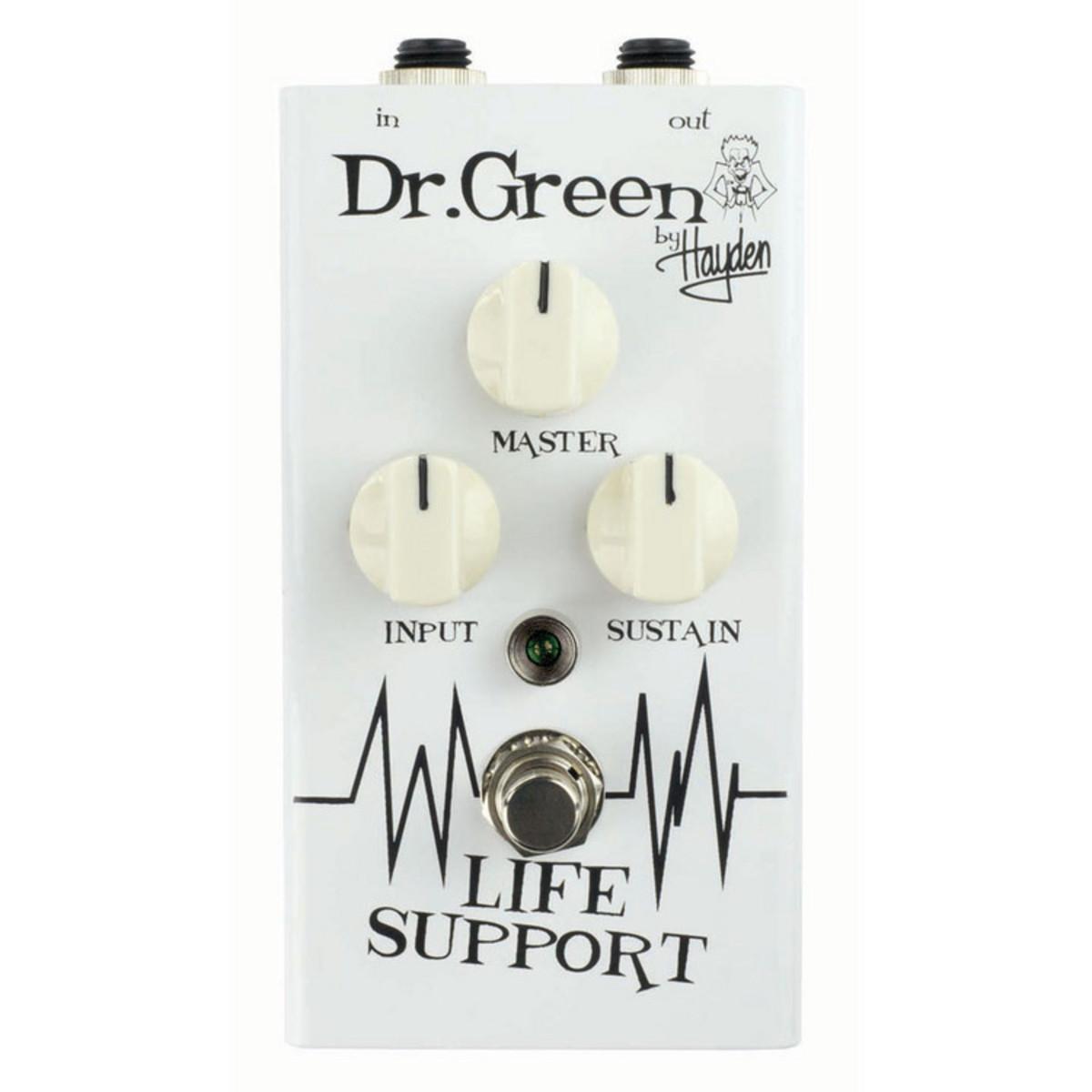 dr green life support sustain compressor guitar pedal at. Black Bedroom Furniture Sets. Home Design Ideas