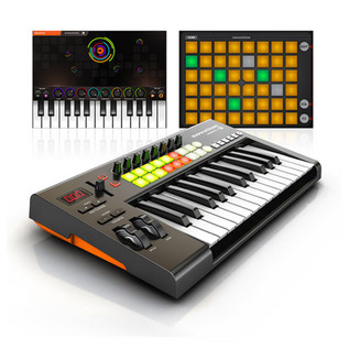 Novation LaunchKey 25 iOS MIDI Keyboard for iPad