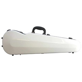 Sinfonica Violin Case, Shaped 4/4 Fibreglass White