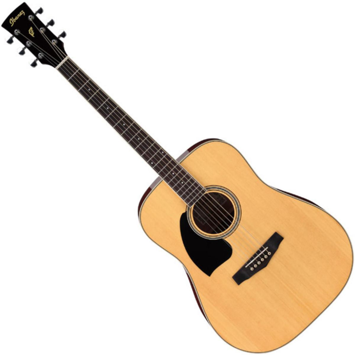 disc ibanez pf15 left handed acoustic guitar natural at. Black Bedroom Furniture Sets. Home Design Ideas