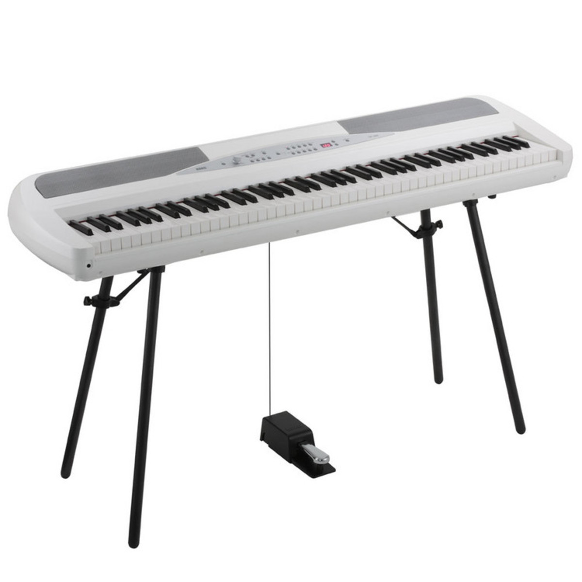 korg sp 280 digital stage piano white at. Black Bedroom Furniture Sets. Home Design Ideas